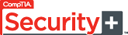 CompTIA Security+ logo that links to products offered