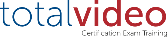 Total Video Certification Exam Training