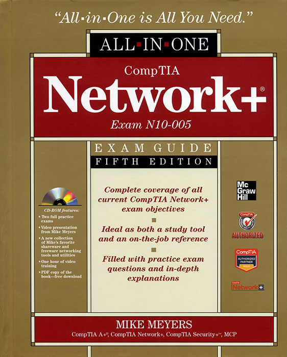 network comptia certification exam books plus seminars guide n10