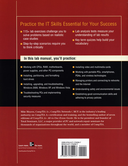 a+ guide to it technical support lab manual